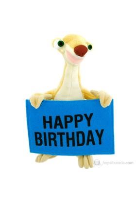 Ice Age Sid Happy Birthday Peluş Oyuncak 22 Cm