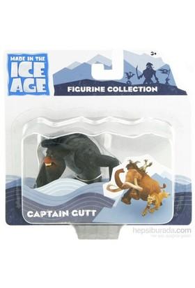 Ice Age 4 Captain Gutt Figür 8 Cm