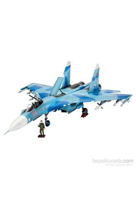 Revell 04937 Sukhoi Su-27 Model Uçak Maketi (1:72 Ölçek)