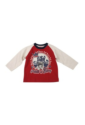 Zeyland Erkek Çocuk Bordo T.Shirt Bis.Yaka K-42Z521atm64