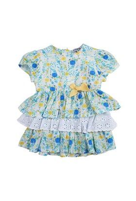Zeyland Kız Çocuk Cicekli Elbise K-51M422roy31