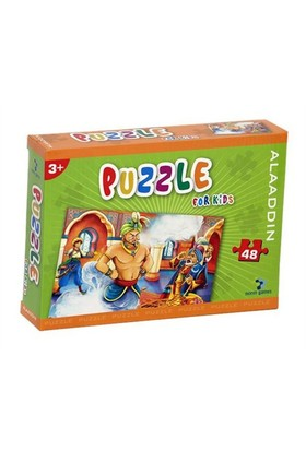 Gizzy Aladdin 48 Parça Puzzle