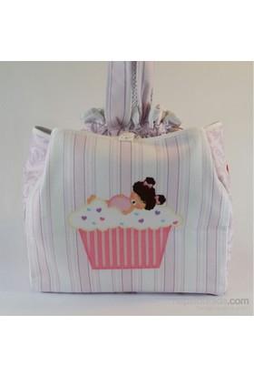 Zey Tasarım Bebek Bakım Çantası - Cupcake Baby