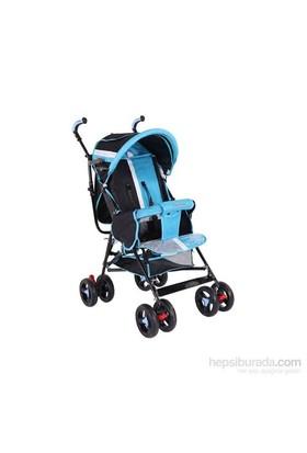 Babyhope Sa-7 Baston Puset Bebek Arabası - Mavi