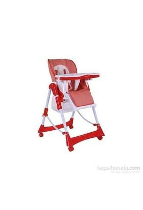 Babyhope Cd-H044 Mama Sandalyesi - Kırmızı