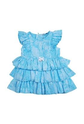 Zeyland Kız Çocuk Desenli Elbise K-51M872rzn31