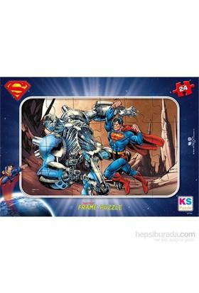 Warner Bros Superman- Frame Puzzle (Yapboz) 24 Parça
