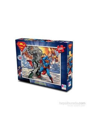 Warner Bros Superman- Puzzle (Yapboz) 200 Parça