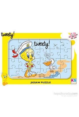 Warner Bros Tweety - Frame Puzzle (Yapboz) 24 Parça