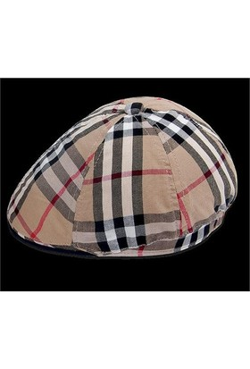 Bay Şapkacı Burbery Kasket