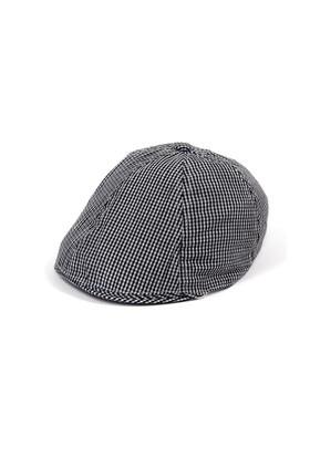 Bay Şapkacı Kareli Kasket