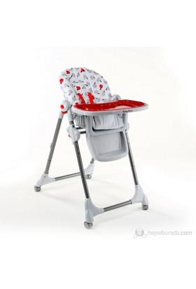 Babyhope CD-H042A Mama Sandalyesi / Kırmızı