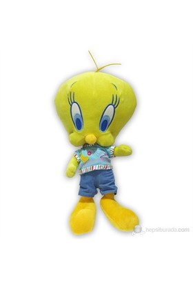Looney Tunes Tweety 40 cm. T-Shirtlü Pantolonlu Peluş