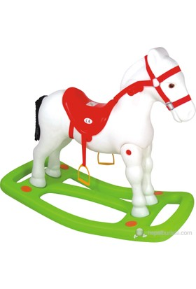 Enhoş Büyük Sallanan At Beyaz 7205