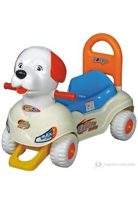 Enhoş Pedalsız Köpek Araba