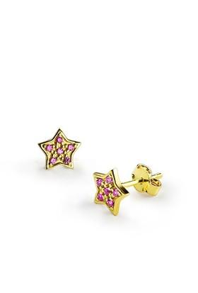 Ejoya Yıldız Altın Küpe