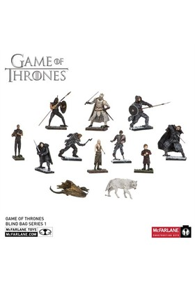 Mcfarlane Game Of Thrones Blind Bag Series 1