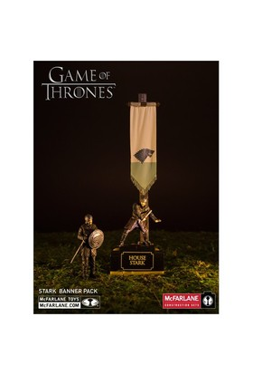 Mcfarlane Game Of Thrones Stark Banner Pack Yapım Seti