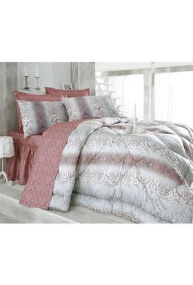 Cotton Box Saten Uyku Seti Çift Kişilik - Zeynep Gri