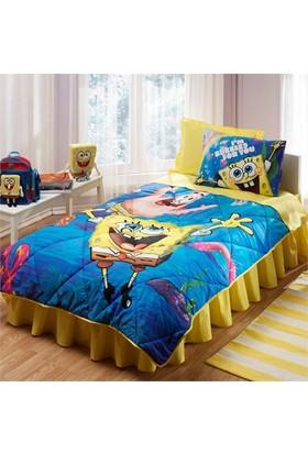 Taç Lisanslı Uyku Seti - Sponge Bob Underwat