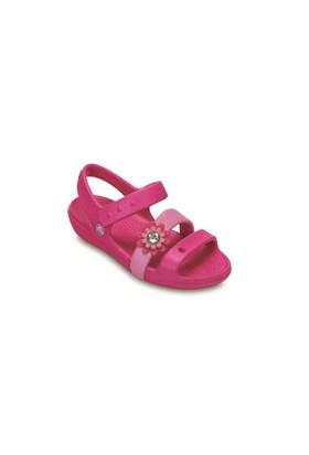 Crocs Keeley Petal Charm Çocuk Sandalet 14852-6L4