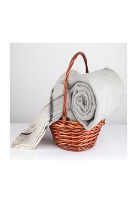 Mella Home Wool Battaniye-Gri