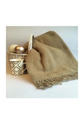 Mella Home Wool Sütlü Kahve Tv Battaniyesi