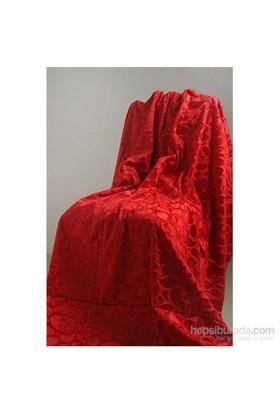 Special Home Tay Tüyü Koltuk & Çekyat Örtüsü Kırmızı