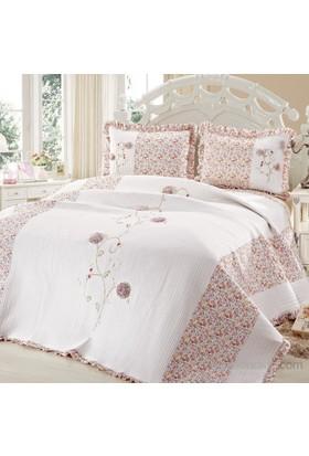 Cotton House Home Collection Angel Çift Kişilik Yatak Örtüsü - Best