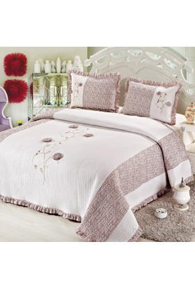 Cotton House Home Collection Angel Çift Kişilik Yatak Örtüsü - Amelya