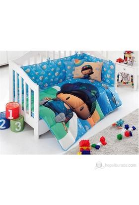 Kristal Lisanslı Bebek Uyku Seti Erkek Pepee