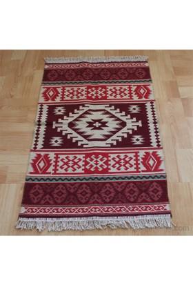 Jüt Tekstil Antik Yün Kilim 5026 80X120