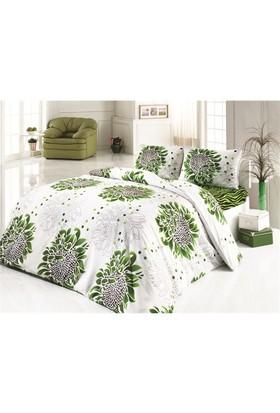 Baysal Afelia Yeşil Tek Kişilik Uyku Seti