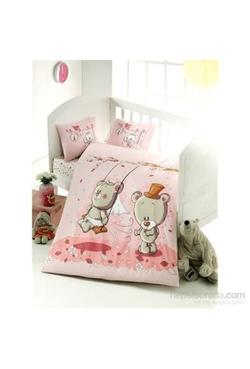 Victoria Ranforce Bebek Nevresim Takımı Pink Dream