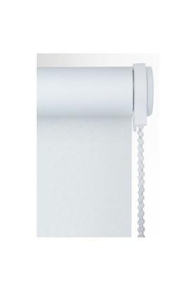 Brillant Etek Dilimli İthal Kalın Kumaş Beyaz Stor Perde 100X200