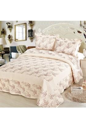 Cotton House Home Collection Daymond Çift Kişilik Yatak Örtüsü - Estela (Mürdüm) / Defne
