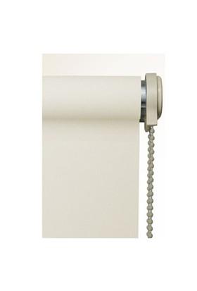 Brillant Etek Dilimli Ekru (Kırık Beyaz) Stor Perde 100X200