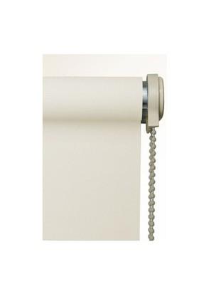 Brillant Etek Dilimli Ekru (Kırık Beyaz) Stor Perde 110X200