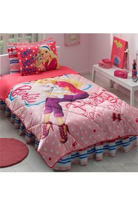 Taç Barbie Pretty Tek Kişilik Ranforce Uyku Seti