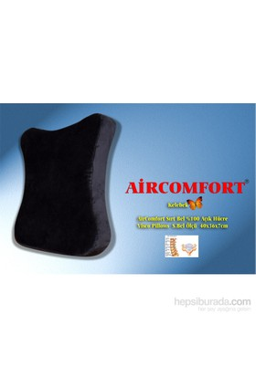 Aircomfort Sırt-Bel-Ense Pillows Kelebek Yastık 40x36
