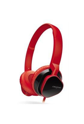 Creative Hitz MA2300 Kulaküstü Kırmızı Kulaklık