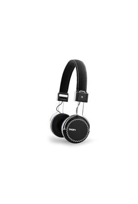 Snopy Sn-A7 Mobil Telefon Uyumlu Rubber Siyah Mikrofonlu Kulaklık