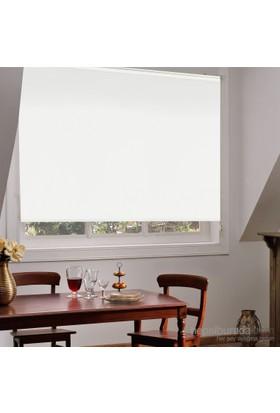 Taç Inova Kendini Temizleyen Blackout Mat Polyester Stor Perde Beyaz