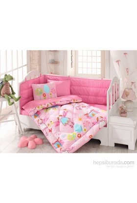 Cotton Box Ranforce Bebek Uyku Seti Masal Pembe