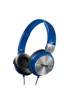 Philips SHL3160BL Kulaküstü Mavi Kulaklık