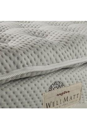 Wellmatt Ortopedik Yün Yatak Pedi 80x180 (El Yapımı Doğal Yün)