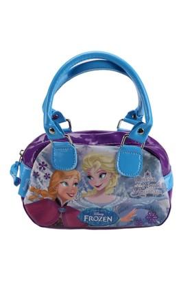 Frozen 86100 Mavi Mor Kız Çocuk Omuz Çantası