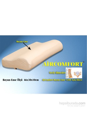 Aircomfort Neck-Showder Visco Yastık