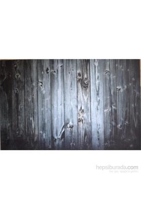Giz Home Kıtty Kapı Paspası 40X60 Ahşap