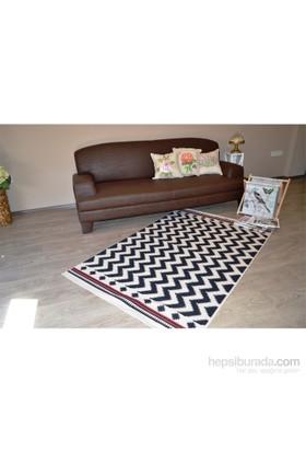 Giz Home Lizbon Kilim 75X150 Zigzag